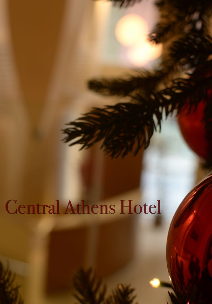 Christmas is around the corner! Enjoy! #Christmas #centralathenshotel #travel #greece