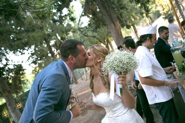 Sharing an ice cold lemonade and a kiss after the ceremony- Mitheo Events | Concept Events Styling