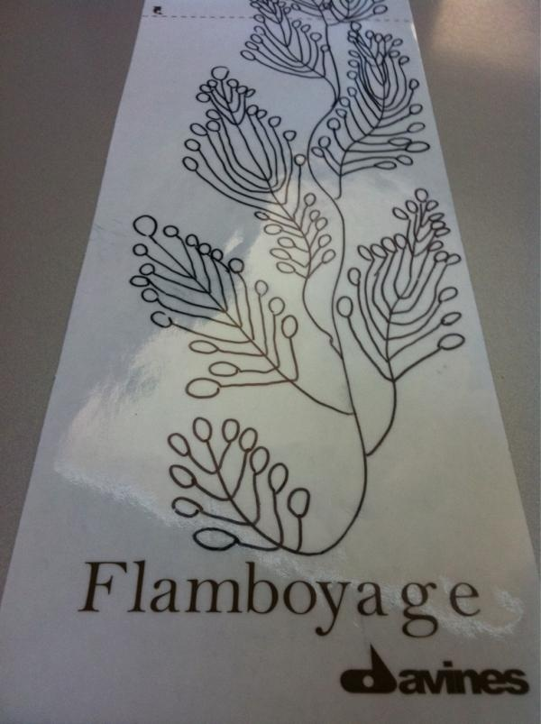 Twitter / DavinesOfficial: #flamboyage Limited Edition ...