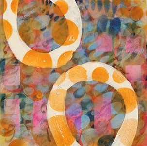 NW Encaustic | Kamla Kakaria | Portfolio: Encaustic Paintings, Nw Encaustic, Encaustic Art, Circles Art, Circle Art