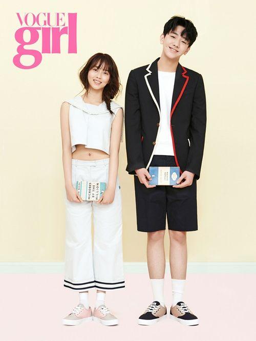 Kim So Hyun in Vogue Girl Korea April 2015 Look 4