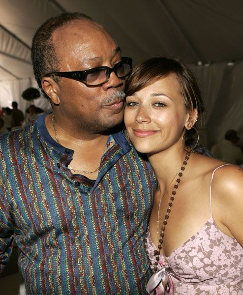 KING Quincy Jones and Rashida Jones  WWW.RICARDOSAMUDASINCLAIR.COM