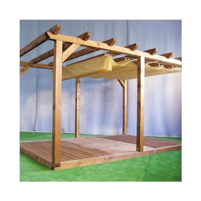 25 best ideas about toile pergola on pinterest toile pour pergola pergola r tractable and for Couverture pergola canisse