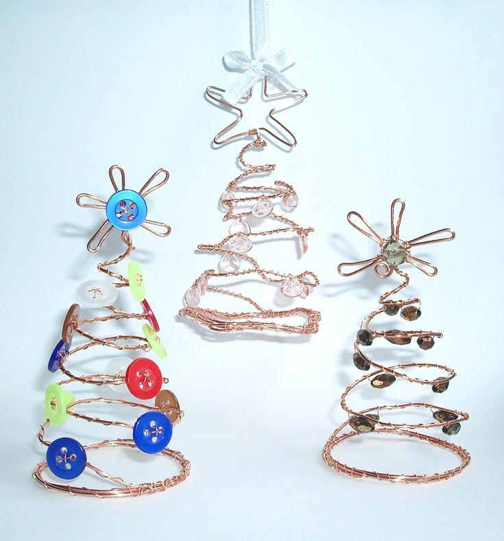 Návod na drátované vánoční ozdoby 11