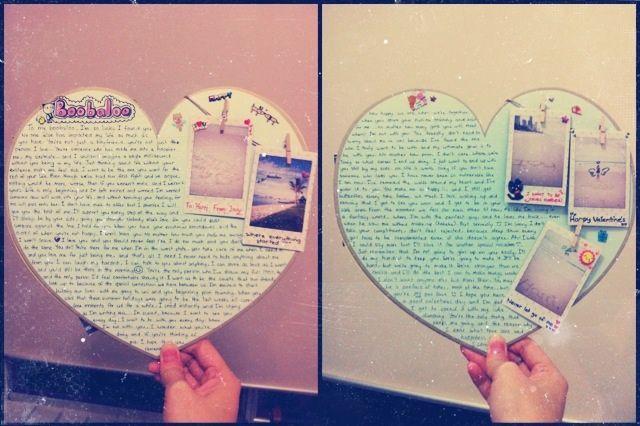 Valentines letter to my boyfffiee :)