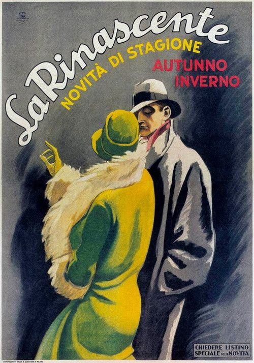 La Rinascente courtesy of Vintage Advertising and Poster Art