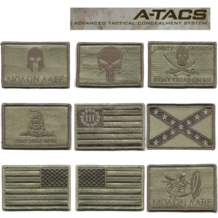 "I NEED that Nyberg Flag 3% patch in my life.    Gadsden and Culpeper 2""x3"" Tactical Patches for ATACS (Front of Hats) $3.96"