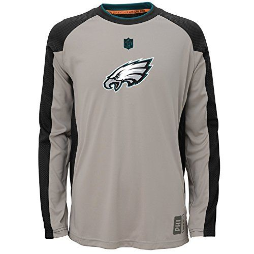 NFL Philadelphia Eagles Youth Covert Long Sleeve Top  https://allstarsportsfan.com/product/nfl-philadelphia-eagles-youth-covert-long-sleeve-top/  Officially licensed by NFL Great way to show team spirit on game day Maximum comfort in one easy to clean style