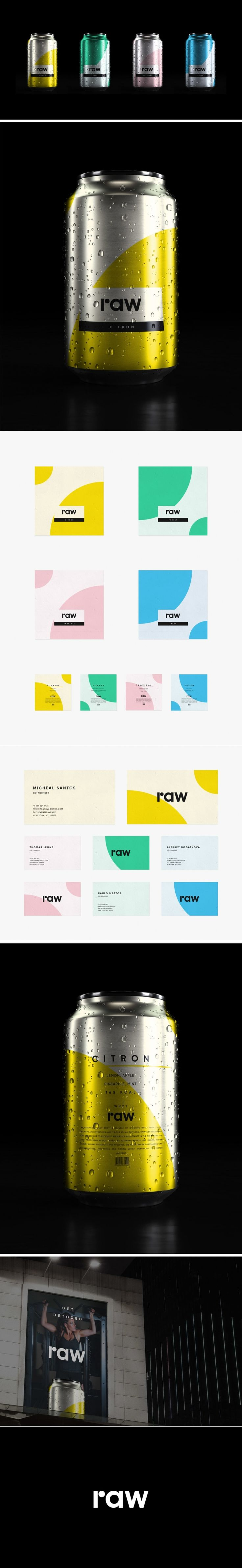 RAW is the Juice Brand That's Serving Up Freshness In Taste and Design — The Dieline | Packaging & Branding Design & Innovation News