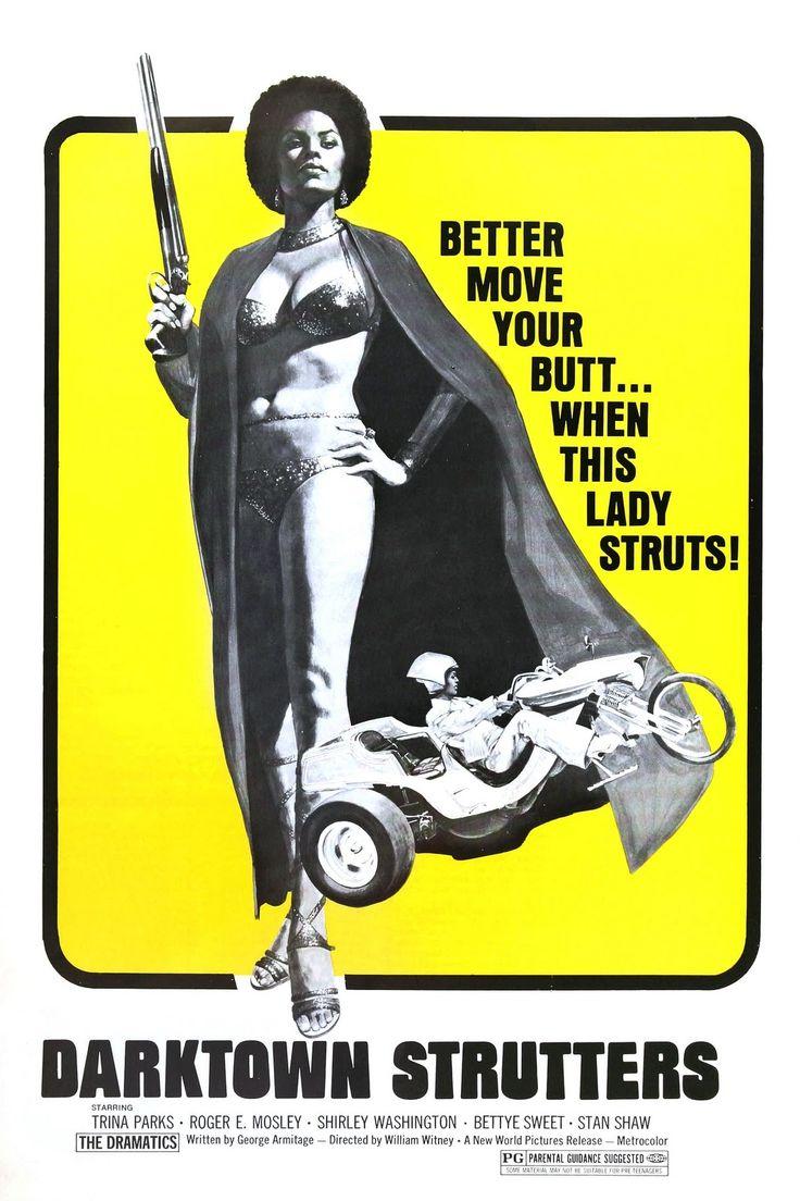 Blaxploitation  70s vintage poster