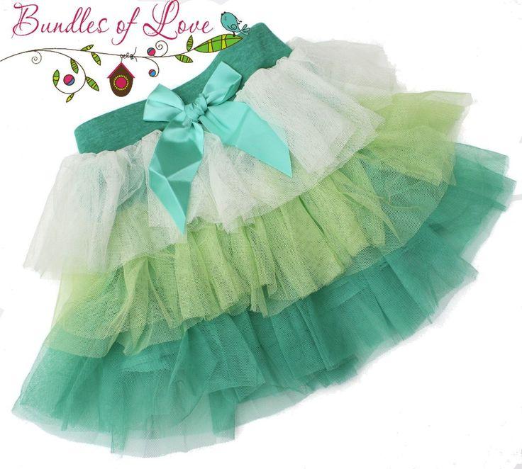 Bundles of Love - Girls Tutu Layered Skirt - Green - Sizes 1,2,3,4, $12.00 (http://www.bundlesoflove.com.au/girls-tutu-layered-skirt-green-sizes-1-2-3-4/)