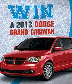 Win a Dodge Grand Caravan
