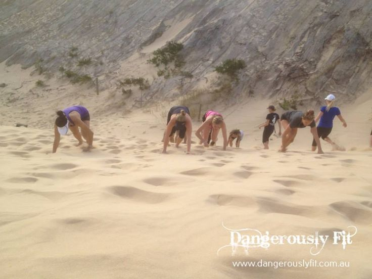 Awesome job at the Sand Dunes Dangerous Mudders - good to see everyone back on the dunes smashing it again. Congratulations to the tankers winning the team game - getting 3 over the line first. Set yourself a goal to beat when we do them again in late October!  http://www.dangerouslyfit.com.au/