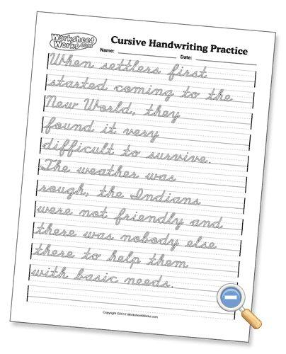 23 best cursive images on pinterest cursive handwriting practice handwriting worksheets and. Black Bedroom Furniture Sets. Home Design Ideas