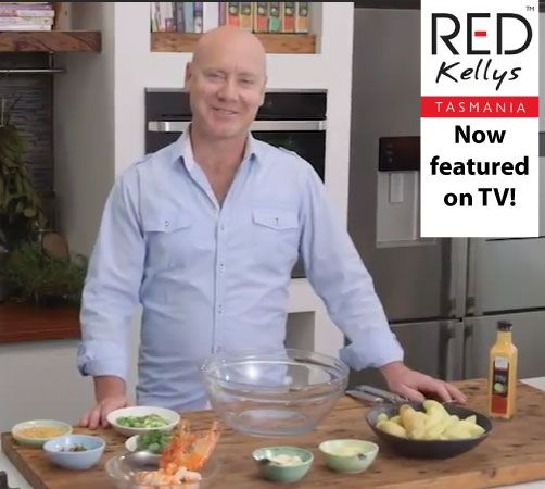 Breaking news - Red Kellys Tasmania's dressing is featured on a cooking TV show! Can anyone guess what the chef will be making? Hint: Creamy Caesar dressing will be a primary ingredient! You'll find out on December 20 when the show goes live - we'll send you the link as soon as we can.
