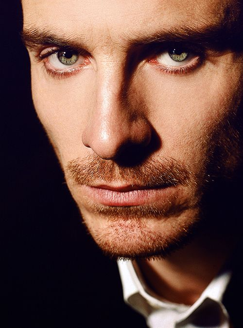 Michael Fassbender again because dear gawd is he hot.