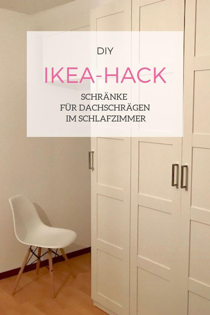 DIY - Unser IKEA-Hack für einen richtig coolen Einbau-Kleiderschrank unter der Dachschräge | Mehr Infos auf Mamaskind.de