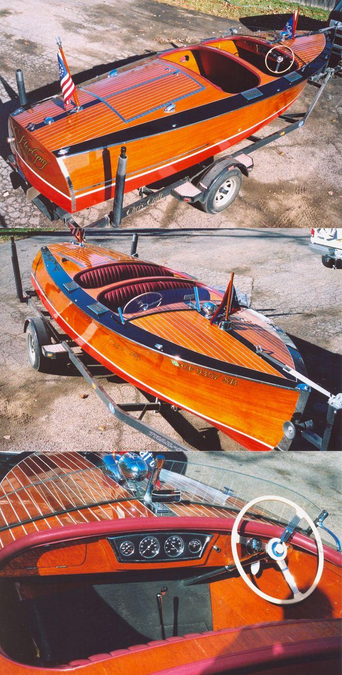 1937 Chris Craft Runabout!! Beautiful Boat!