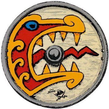 Ασπίδα Viking «Sharky» | Το Ξύλινο Αλογάκι - παιχνίδια για παιδιά