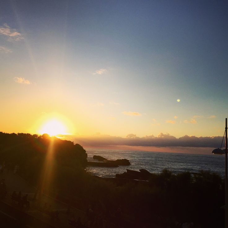 Another beautiful sunset in Biarritz #socool