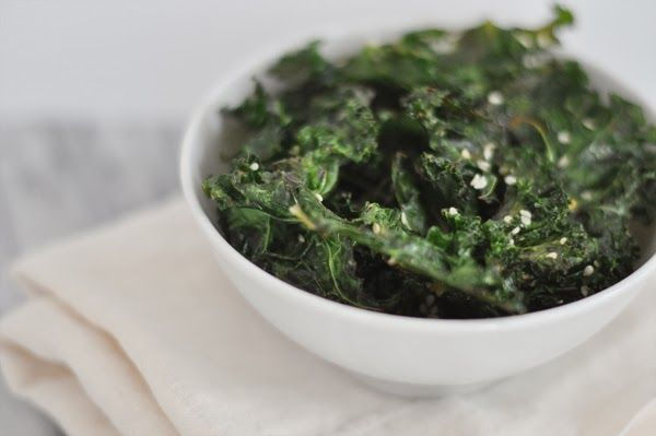kale chips recipe from Glitter Guide: Recipes Snacks, Fulfilling Snacks, Healthy Snacks, Kale Chips, Asian Kale, Better Food, Cooking