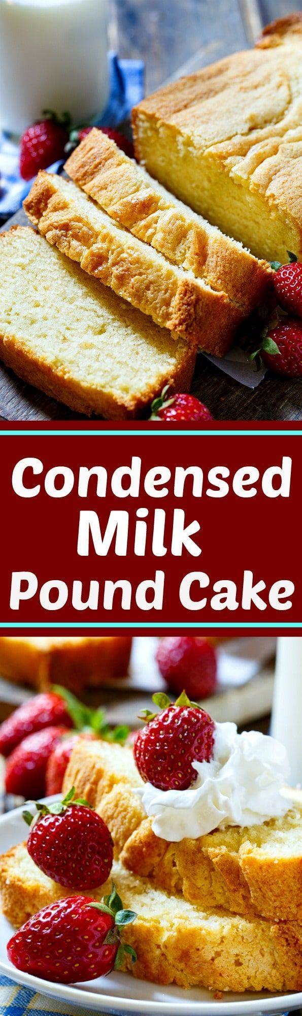 Condensed Milk Pound Cake - Spicy Southern Kitchen