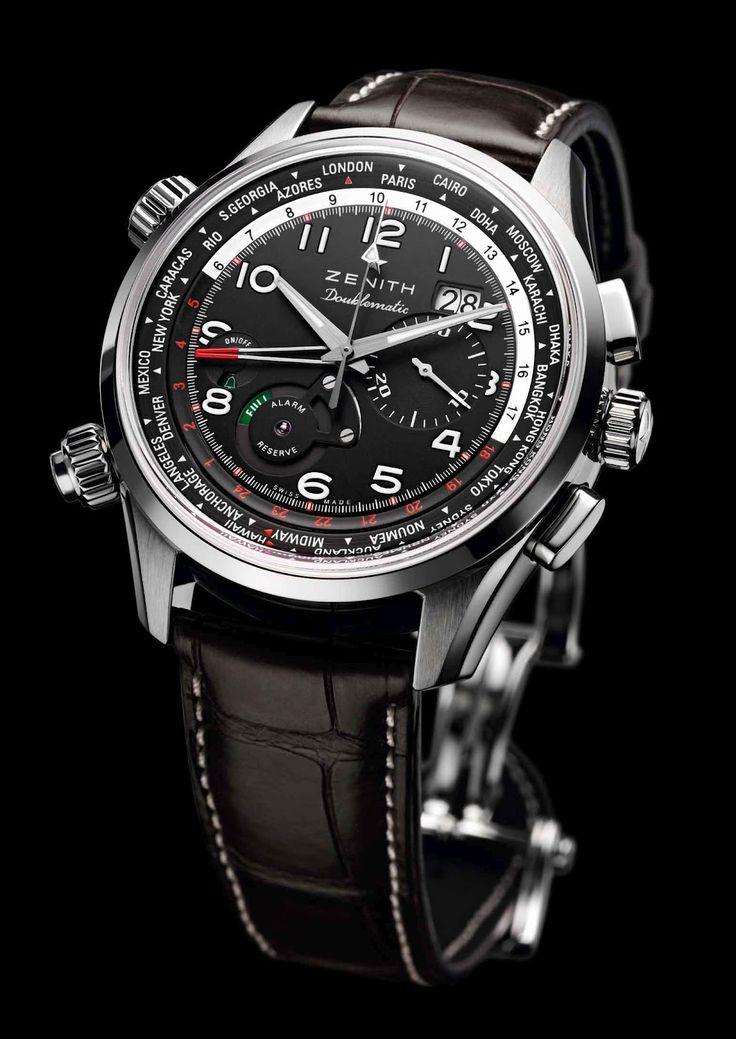 1dbd91a0ddd Estação Cronográfica  Em primeira mão - pré-lançamento da nova linha de  relógios Zenith