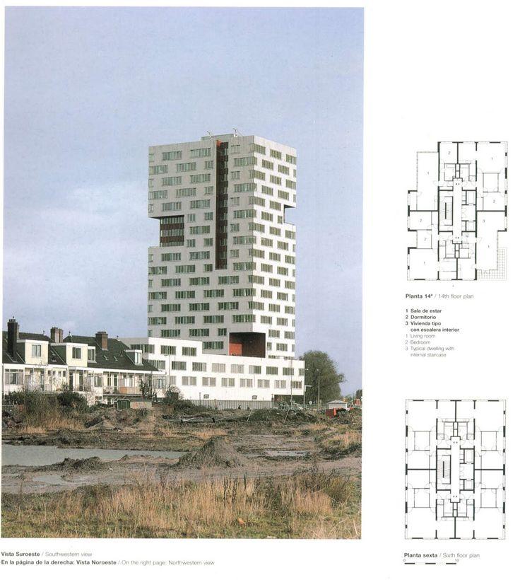 Neurelings Riedijk - IJ tower 1998 - Amsterdam