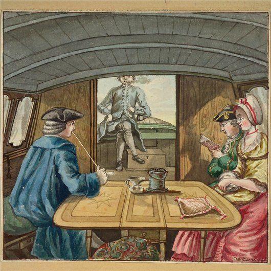 Een kijkje in de trekschuit - Geschiedenis van Zuid-Holland