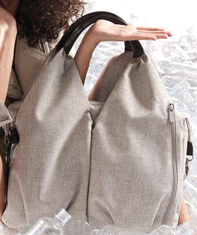 Lassig Green Label Neckline Diaper Bag Black Melange Best Price