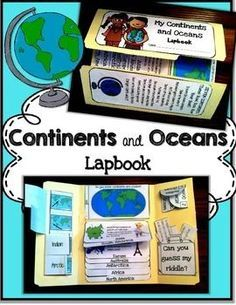 Lapbooks are a great way to get students learning when they don't even know they are learning! This pack includes all interactive and hands on activities to teach continents and oceans. The best part is you can also use this pack as an interactive notebook or simply use the foldables to reinforce the learning.