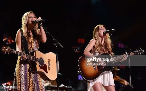 maddie and tae cma fest | Taylor Dye and Maddie Marlow of Maddie & Tae perform onstage during ...