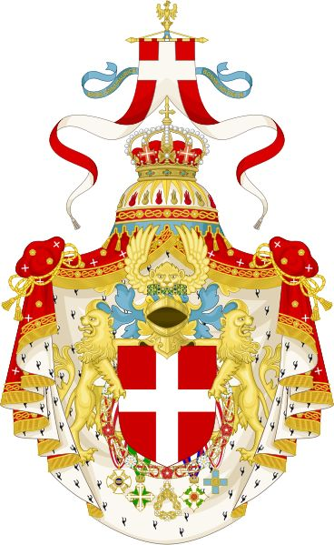 Great coat of arms of the king of Italy