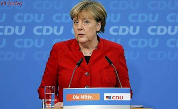 Silná sněhová bouře přemohla státníky. Merkelová odložila cestu za Trumpem