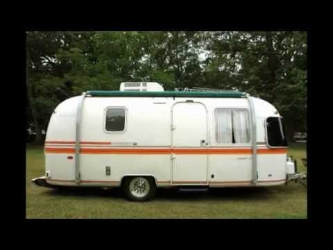 1972 Airstream Argosy Vintage Campers Trailers Travel Trailer