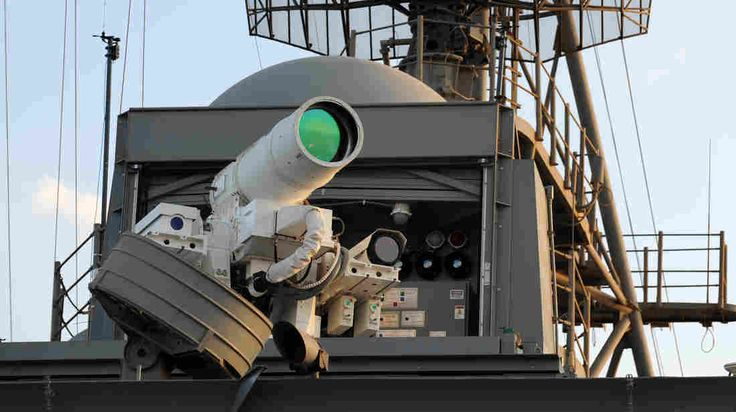 The Navy says laser weapons are safer than gunpowder-based ordnance and much cheaper than kinetic weapons such as missiles. Each shot by the laser, costs less than $1.