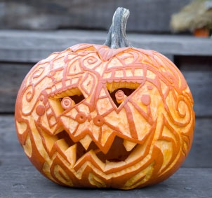 Carved Pumpkin... Love it but ill never do it!