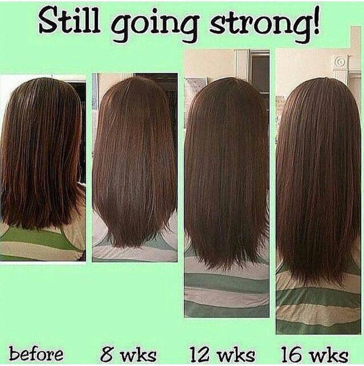 Cuanto crece el pelo en mes