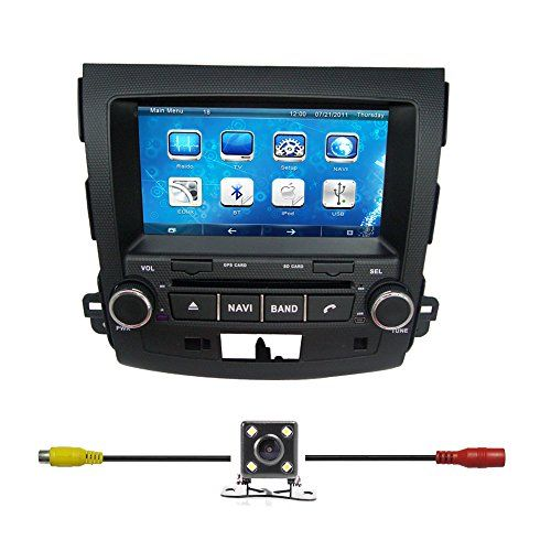 Special Offers - Bluelotus8Car DVD GPS Navigation For Mitsubishi Outlander 2007 2008 2009 2010 2011 2012 2013 With BluetoothTVRadiosteering Wheel ControlRDSSd/usbAUX IN Free Backup CameraUS Map - In stock & Free Shipping. You can save more money! Check It (June 25 2016 at 05:07AM) >> http://gpstrackingdeviceusa.net/bluelotus8car-dvd-gps-navigation-for-mitsubishi-outlander-2007-2008-2009-2010-2011-2012-2013-with-bluetoothtvradiosteering-wheel-controlrdssdusbaux-in-free-backup-cameraus-map/