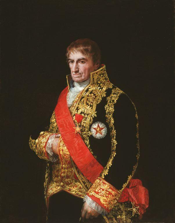 General Jose Manuel Romero - Francisco Jose de Goya y Lucientes - 1810