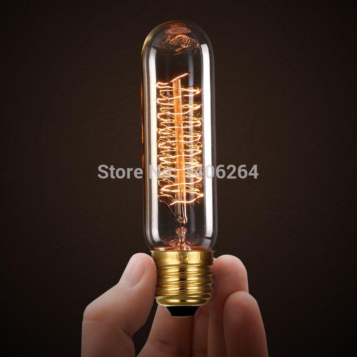 Упаковка из 6 40-вт T10 E14 Винтаж Галогенная Лампа Базы, теплый Белый Кафе-Бар Кафе Магазин Клуб