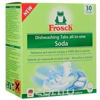 """Таблетки для мытья посуды """"Frosch"""", для посудомоечной машины, 30 шт - купить по выгодной цене с доставкой. Хозяйственные товары от Frosch в интернет-магазине OZON.ru"""