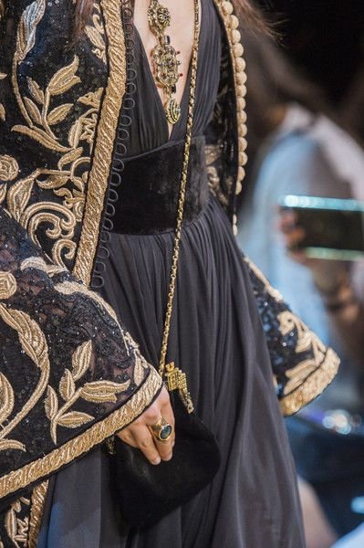 Elie Saab at Couture Fall 2017 - Details Runway Photos