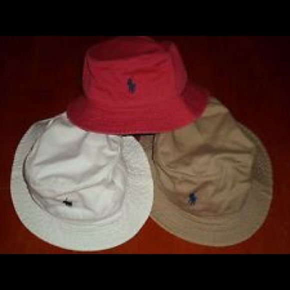 Looking for these bucket hats !Polo Ralph Lauren Looking for these color polo bucket hat ! (: comment if you have one polo Ralph Lauren Polo by Ralph Lauren Accessories Hats