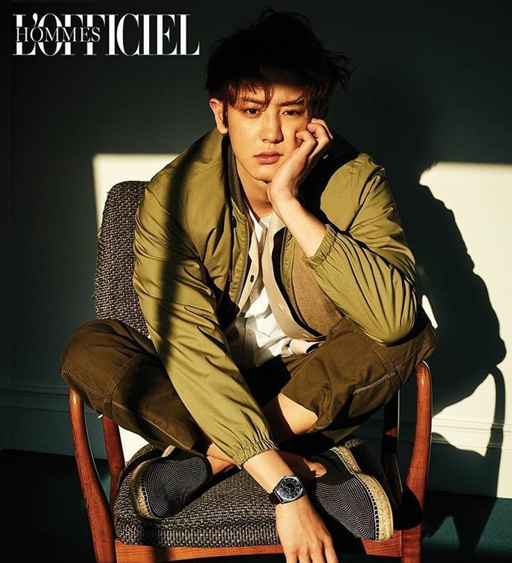 EXO Chanyeol for L'Officiel Hommes April 2017