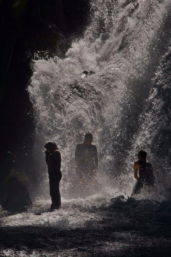 Permandian Air Terjun Bantimurung, Maros, Sulawesi Selatan, Indonesia