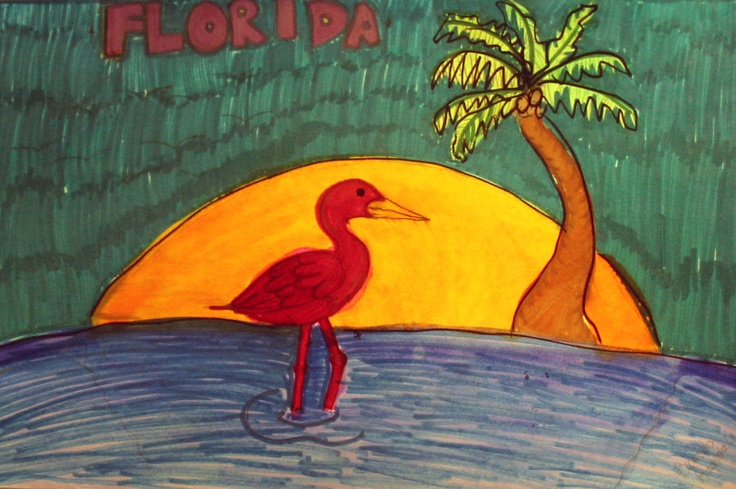 Artwork of Laurel Nokomis Middle School student Stephon Crain, 14, depicts the natural heritage of our Florida coastal community – the beaches, the creatures of the sea, and the flora and fauna of this beautiful sub-tropical place on the Gulf of Mexico. The Sister Cities artwork was displayed during the Hands of Heritage Fest at Robarts Arena in 2003,