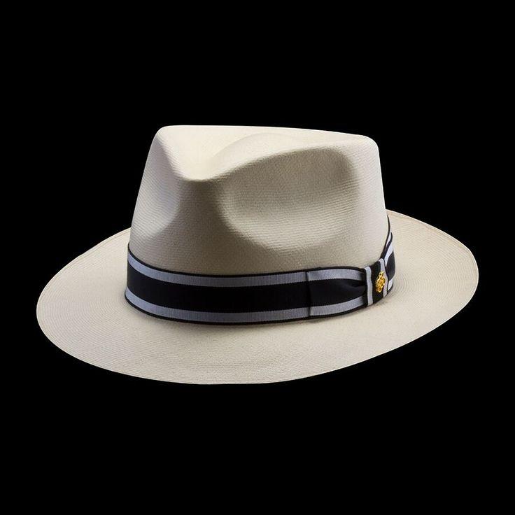 Men's Montecristi Panama Hats, Fedoras, Custom Sized
