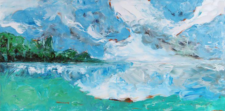 Storming Escarpment / Patti Friday