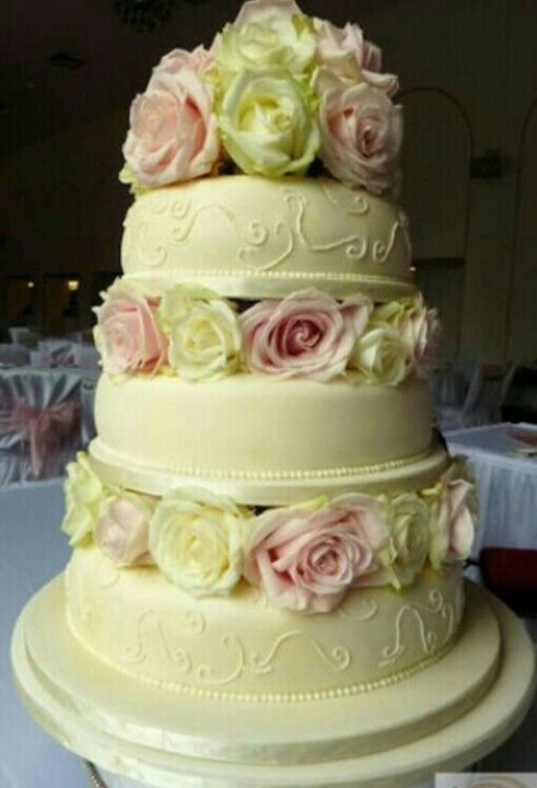 18 best Wedding Cakes images on Pinterest | Cake wedding, Weddings ...